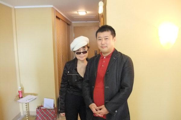 宮永学長がアート番組の「ジョンとヨーコ特集」に案内役で出演